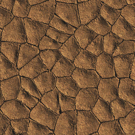 Mud Seamless Texture Tile Stock Photo