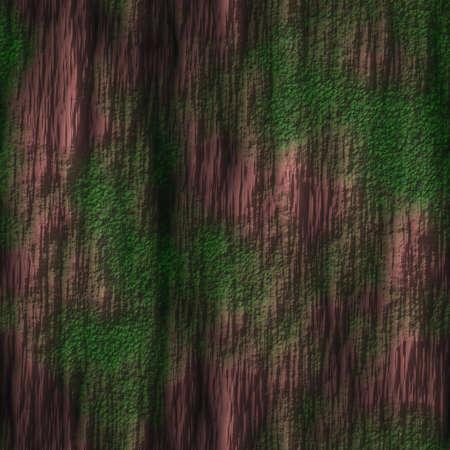 Tree Bark with Moss Seamless Texture Tile Stock Photo - 14024923