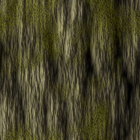 Tree Bark with Moss Seamless Texture Tile photo