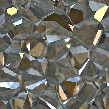 Metallic Crystals Seamless Texture Tile