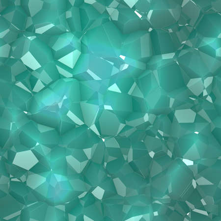 Crystals Seamless Texture Tile Imagens