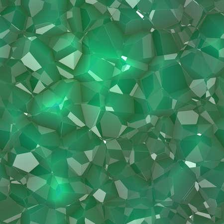 Crystals Seamless Texture Tile Stock fotó