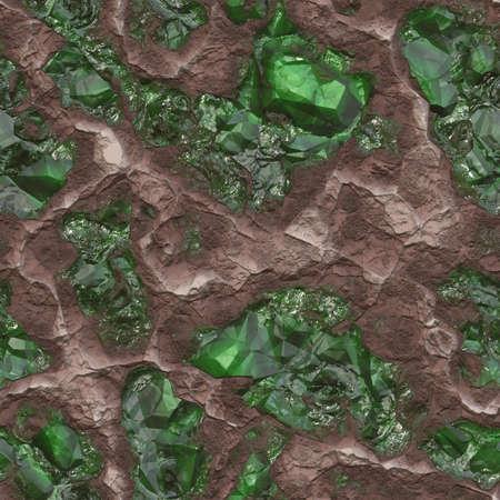 seamless: Gemstone Ore Seamless Texture Tile Stock Photo
