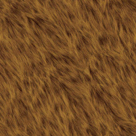 Bear Fur Seamless Texture Tile