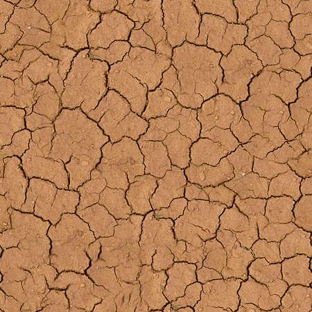 Cracked Earth Seamless Texture Tile Archivio Fotografico