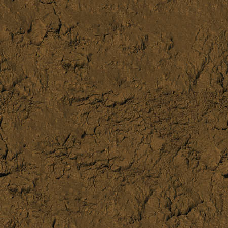 泥のシームレスなテクスチャ タイル