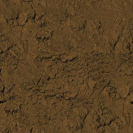 Mud Seamless Texture Tile Banque d'images