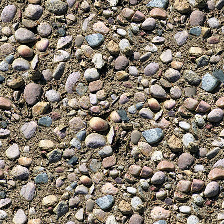 Rocks and Gravel Seamless Texture Tile