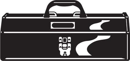 Tool Box Vinyl Ready Vector Illustration