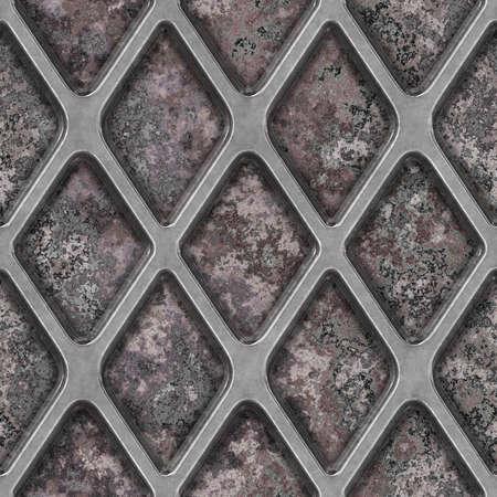 Râpez dessus Tile Texture Granit transparente Banque d'images - 14215917