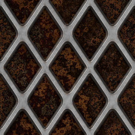 Grate on Granite Seamless Texture Tile Stock Photo - 14215911