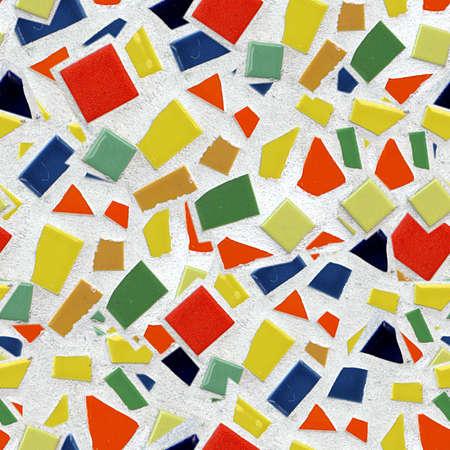 Broken Tile Mosaic Seamless Texture Tile
