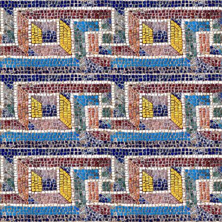 Mosaic Seamless Texture Tile Stock Photo - 14215920
