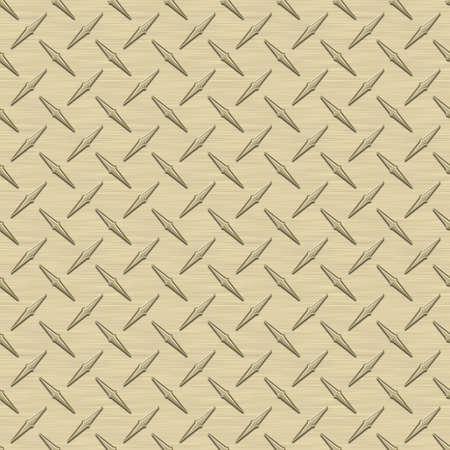 metal: Light Gold Diamondplate Metal Seamless Texture Tile Stock Photo