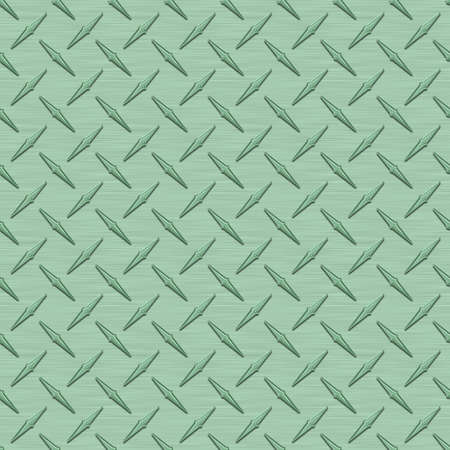 Mint Green Diamondplate Metal Seamless Texture Tile photo
