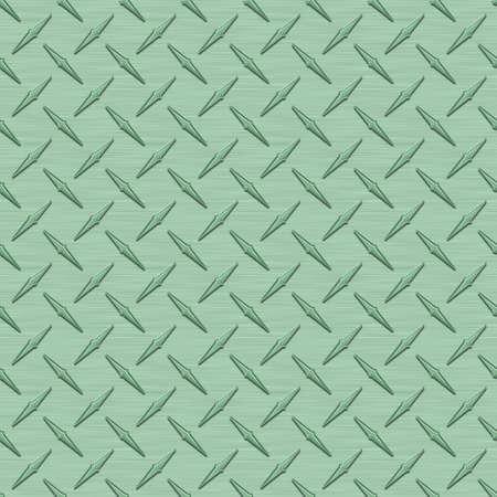 anodized: Verde Menta Diamondplate Azulejos textura de metal sin costura