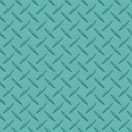 diamondplate: Aqua Diamondplate metallo Seamless Texture Tile