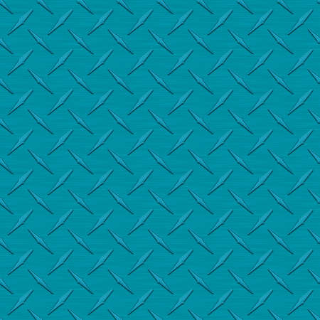 diamondplate: Teal Diamondplate Metal Seamless Texture Tile Stock Photo