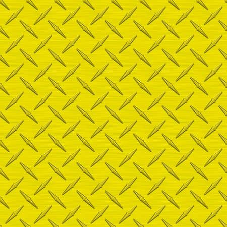diamondplate: Giallo Diamondplate metallo Seamless Texture Tile