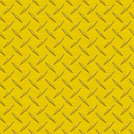 anodized: Girasol amarillo Diamondplate teja met�lica transparente textura Foto de archivo