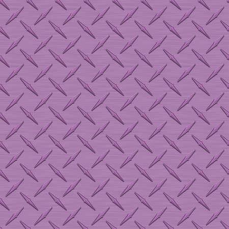 Lavender Diamondplate Metal Seamless Texture Tile photo