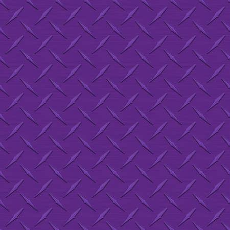 diamondplate: Viola Diamondplate metallo Seamless Texture Tile