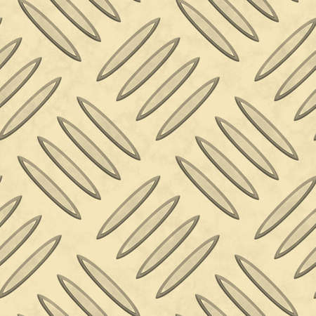 diamondplate: Oro chiaro diamondplate Metallo Texture Seamless Tile