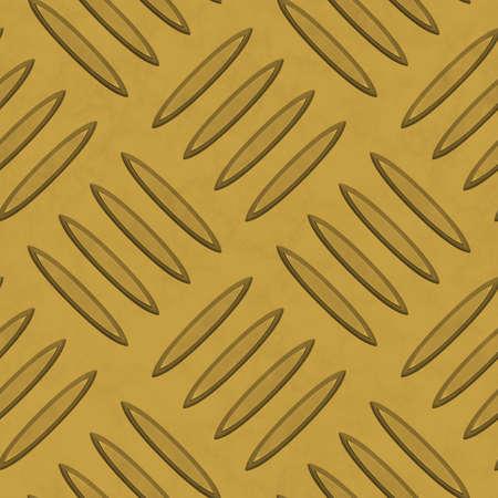 diamondplate: Dark Gold Diamondplate Metal Seamless Texture Tile Stock Photo