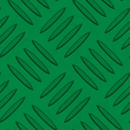 diamondplate: Dark Green Diamondplate Metal Seamless Texture Tile Stock Photo