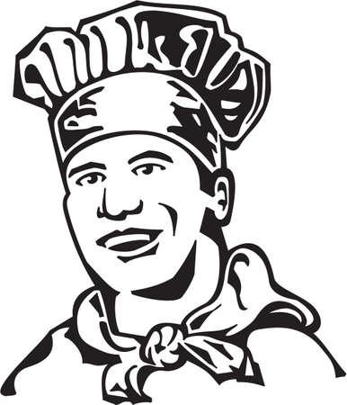 Chef Vinyl Ready Illustration