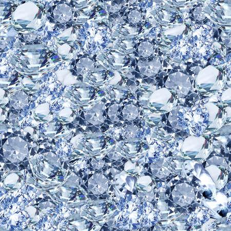 ダイヤモンド シームレス テクスチャ タイル 写真素材