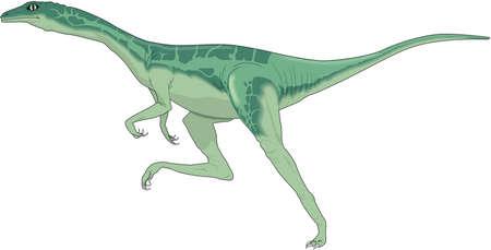 Ornithomimus イラスト