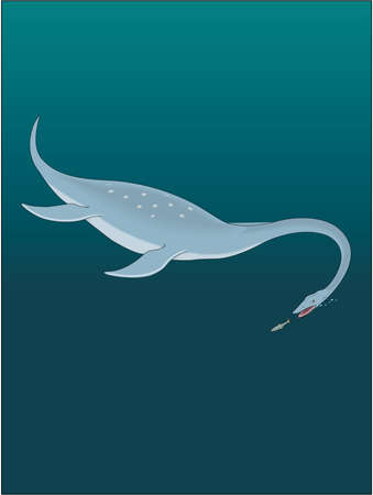 Plesiosaurus Illustration