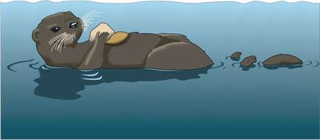 Illustrazione di Otter