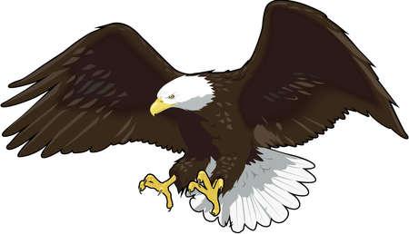 eagle atterrissage illustration