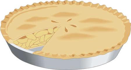 Apple Pie Illustration Çizim