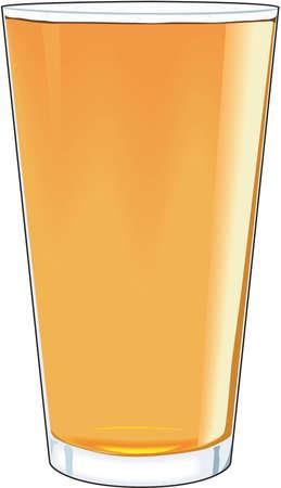 ale: American ale illustration.
