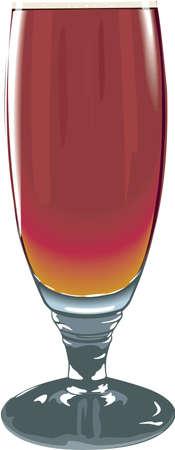 オオムギ ワイン イラスト