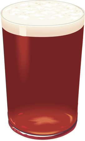 Bock Beer Illustration