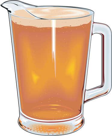Krug Bier Abbildung. Standard-Bild - 84056386