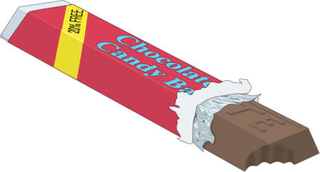 Candy Bar Illustration