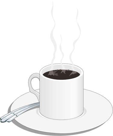 コーヒー イラストのカップ