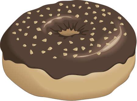 Dessert illustration.