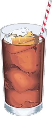Iced Drink Illustration