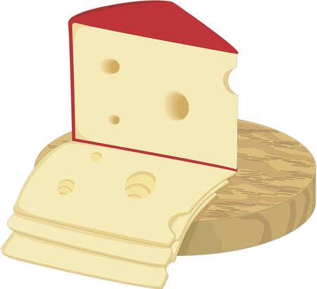 Swiss Cheese Illustration Ilustração