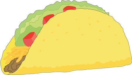 Taco Illustration