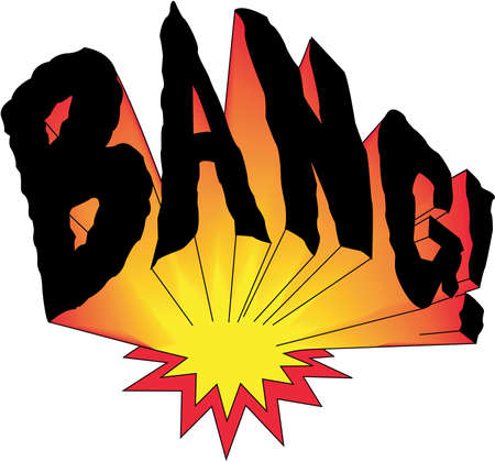 Bang Illustration 向量圖像