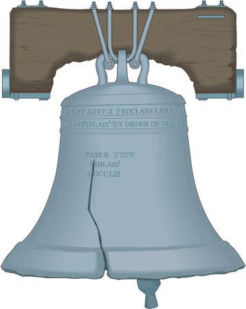 Liberty Bell Illustration Illustration
