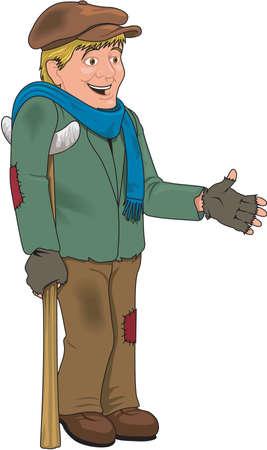 Tiny Tim Illustration
