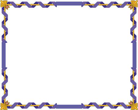 리갈 테두리 그림입니다. 일러스트